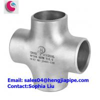 Wholesale STAINLESS STEEL WP304 PIPE CROSS/ PIPE FITTINGS MANUFACTURER from china suppliers