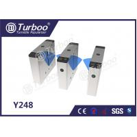 Bi - Directional Flap Barrier Turnstile 35 Persons / Min Transit Speed