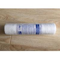 China PP Cotton Water Filter Cartridge Replacement 10 Inch 5 Micron For Oil Field Water wholesale