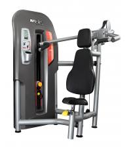 Stationary Power Exercise Equipment Dumbbell Shoulder Press Machine Large Size
