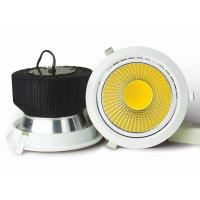 OEM Manufacture High brightness 45W LED COB Downlight silver color made in china