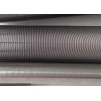Wholesale Filtration Cylinder Stainless Steel Tube / 40 Micron Johnson Screen Inside Rods Lengthways from china suppliers