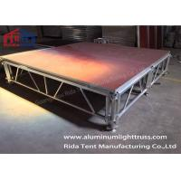 Strong Heavy Duty Portable Stage / Folding Stage 6082-T6 Aluminum Alloy  Frame