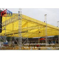 Wholesale LED Screen Aluminum Stage Truss , Portable Stage Lighting Truss15 X 25m Size from china suppliers
