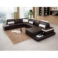 Quality comfortable PU leather living room furniture modern sofa FA020 for sale