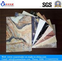 Wholesale UV Laminated PVC Marble Board Production Line from china suppliers