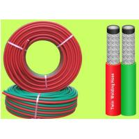 EN 559 1 / 4 Inch 100 M Rolls Grade R Twin Welding Hose For Gas Cutting