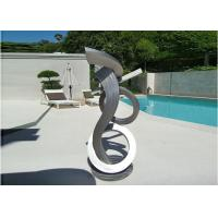 Wholesale Brushed Craft Stainless Steel Sculpture Art Home Decoration Swimming Pool Garden from china suppliers