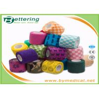 Wholesale First Aid Care Cohesive Bandage Wrap , Colored Self Adhering Gauze Bandage from china suppliers