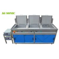 Multi Tanks Ultrasonic Engine Cleaning Machine With Custom Made Tank Size AG - 3072G