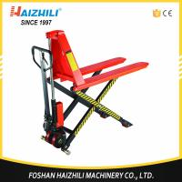 Quick lift hydraulic 1.5 ton scissor lift hand pallet truck with cheap price