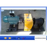 Heavy Duty Electric Cable Pulling Winch 8 Ton 5.5KW Rated Load Two Brake Installment