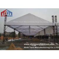 Wholesale Silver 3m Length Mini Aluminum Stage Truss Strong Loading Capacity Long Lifespan from china suppliers