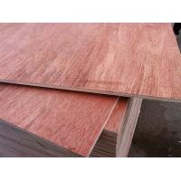 Wholesale 15mm 4X8 Double Sided Okoume Faced Plywood with Poplar Core E1 Glue for Cabinet Making from china suppliers