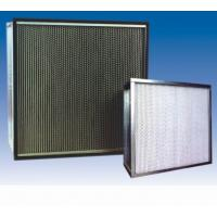 Wholesale close pleat (HEPA filter H14) hepa medical air filter from china suppliers
