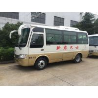 Wholesale Plateau Terrain 19 Seats Diesel Minibus Star Type Cummins Engine Manual Gearbox from china suppliers