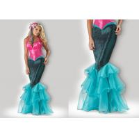 Wholesale Mermaid 1033 Pink Halloween Adult Costumes , Greek Goddess Dressadult Halloween Costumes from china suppliers