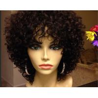 Wholesale Smooth Mixed Color  Brazilian Curly Human Hair Extensions Can Be Dye Permed from china suppliers