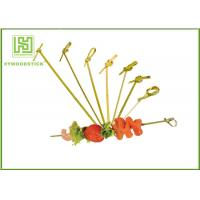 Wholesale Healthy Bbq Vegetable Skewers , Yakitori Roasting Wooden Meat Skewers For Party from china suppliers