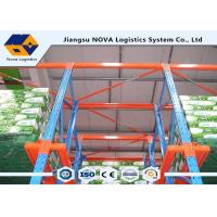 Galvanised Pallet Racking , Homogeneous Products Drive Through Pallet Racking