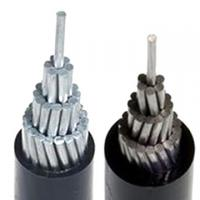 aluminum conductor PE insulated cable
