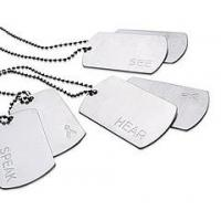 Wholesale Fashion Aluminum Dog Tag with Plastic Rubber from china suppliers