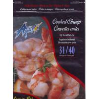 Cooked shrimp Stand Up Pouch , Bottom Gusset Zipper Stand Bags for food