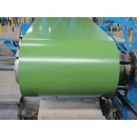 Colour Coated Galvalume Steel Sheet Lotus Green Color Commercial Sheet Metal Coil