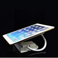 COMER anti-theft cable locking tablet security tabletop display alarm holder with charging cord