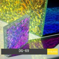 Dichroic Shattered Glass