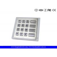 China Panel - Mount Backlit Metal Keypad , customizable waterproof keypad dust - proof wholesale