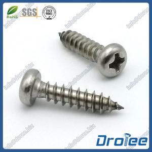China Stainless Steel Pan Head Philips Sheet Metal Screws wholesale
