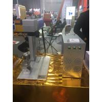 Portable Laser Marker , Mini Metal Marking Laser Machines With Rotation