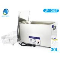 LCD Display Hospital Surgical Ultrasonic Cleaner , 30L Ultrasonic Cleaning Machine JP - 100ST