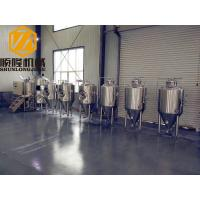 Two Vessels Industrial Brewing Equipment , 3HL SS Commercial Micro Brewing Equipment