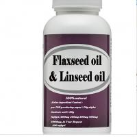 Wholesale Wholesale Organic Bulk Flaxseed Oil Softgel Capsule flaxseed oil and linseed oil diet from china suppliers