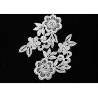 Wholesale Small Elegant White Polyester Flower Crochet Lace Collar , Vintage Crochet Collar Pattern from china suppliers