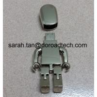 High Quality ALL Metal Robot USB Flash Drive 2.0, Gift USB Drives with Laser Printing Logo