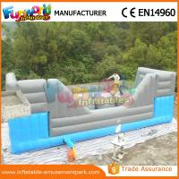 China Blue and Grey Inflatable Big Baller Games for Kids Inflatable Obstacle Course for Adults wholesale