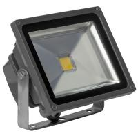 IP65 LED Flood Light 30 Watt , COB LED Floodllight EPISTAR Black Stainless