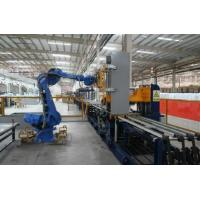 customized high productive easy operate automatic u-shap sheet shell rolling and forming line for refrigerator