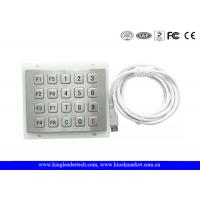 China USB keyboard numeric keypad 5x4 Matrix , IP65 outdoor keypad WaterProof wholesale