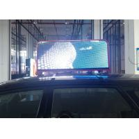 China Digital Cab Tops Advertisement Taxi Led Display Signs for Worldwide Use with Module Size W 6.3 x H 6.3 x D 0.67 inch wholesale