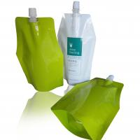 China Baby Food Packaging Stand Up Spout Pouch With Ziplock Leak Proof Feature wholesale