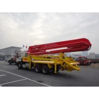 China 6x4 Mobile 37m Concrete Pump Truck with Germany Rexroth Hydraulic System wholesale