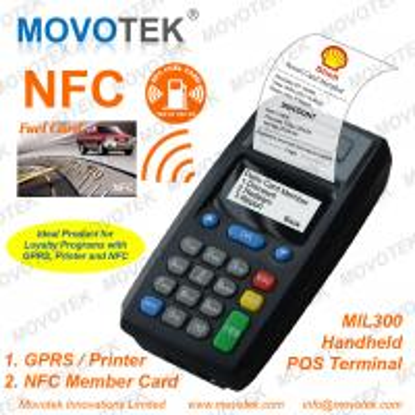 Movotek MIL300 Loyalty POS Terminal with RFID Card NFC Card Reader