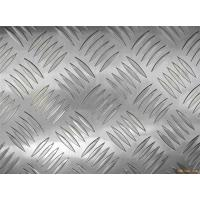 Decorative flooring / table / tank 3003 Checkered Aluminum Sheets Mill Finished Surface