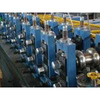 China 90 m / Min Tube Forming Machine Different Size Design Rectangular Pipe wholesale