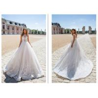 Quality New Style Strapless Women Elegant Bridal Gowns Ivory Ball Gown Custom Made Wedding Dress for sale
