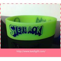 high quality colors debossed wide  silicone wristband